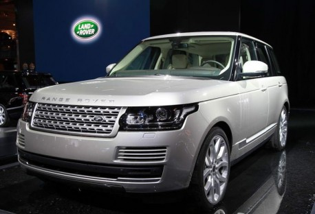 New Range Rover hits the Chinese car market