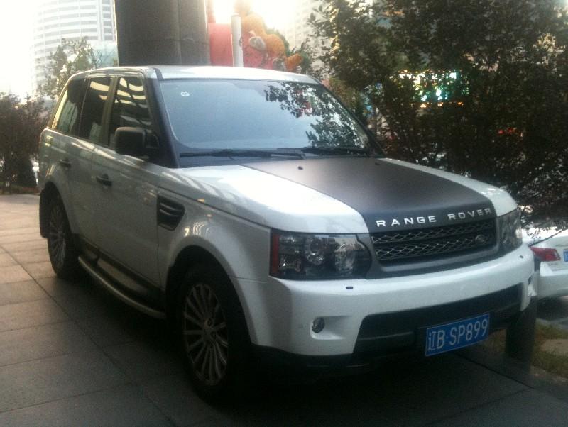 Range Rover Sport Is A Bit Matte Black In China