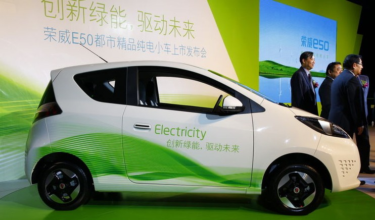 Roewe Ev Electric City Car Made In China Available In China