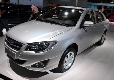 Facelifted Toyota Corolla EX launched on the Guangzhou Auto Show