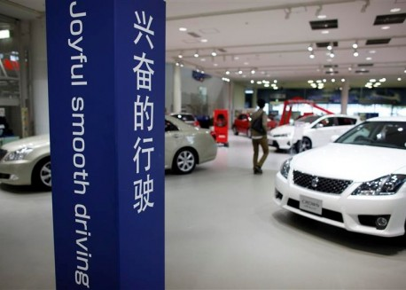Toyota sales in China down 44%, hit by islands row