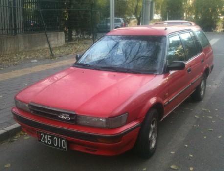 Spotted in China: Toyota Corolla 4WD Escape