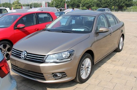 Facelifted Volkswagen Bora arrives at the Guangzhou Auto Show