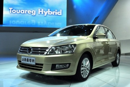 Production of the new Volkswagen Jetta has begun in China