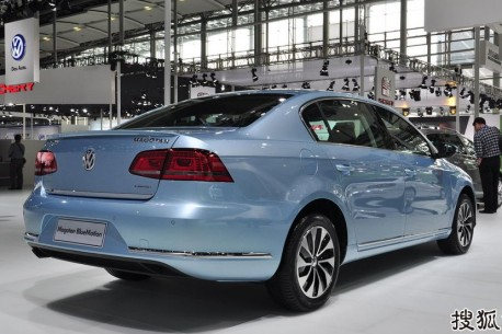 Volkswagen Magotan & Sagitar Blue Motion hit the China auto market