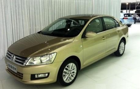 New Volkswagen Santana China