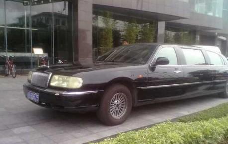 Spotted in China: Hongqi Qijian CA 7460 L1 limousine