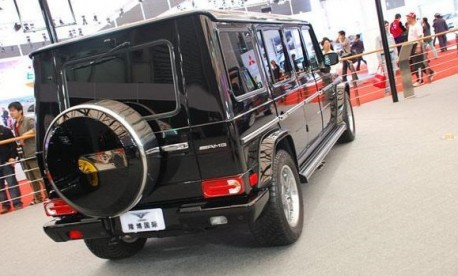 ACE Mercedes-Benz G55 AMG stretched limousine launched in China