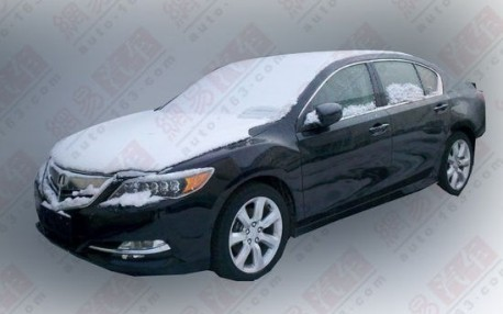 Spy Shots: Acura RLX testing in China