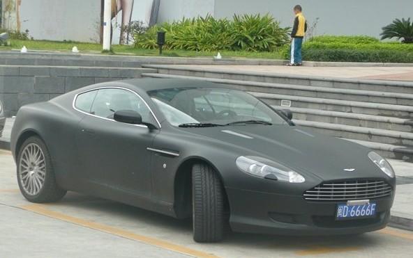 Aston Martin Db9 Is Matte Black In China Carnewschina Com