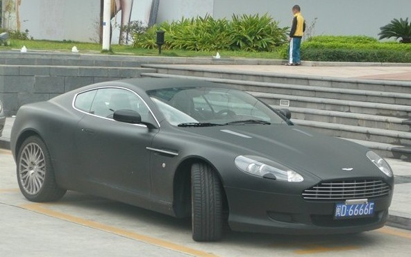 Aston Martin Vanquish Matte Black