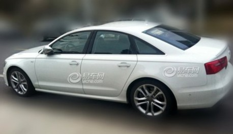 Spy Shots: Audi S6 testing in China