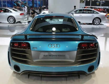 Audi R8 China Edition launched on the Chinese supercar market