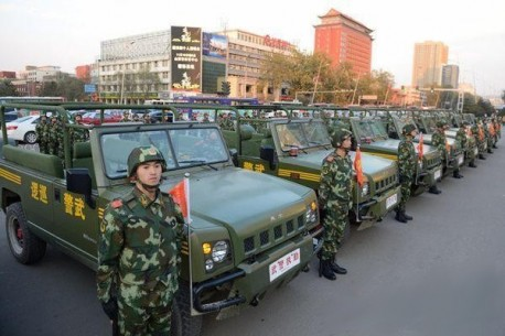 New Beijing BJ2022 anti-riot vehicles for the Police in China