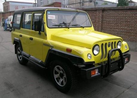 Beijing Auto Works working on new 'Zhanqi' SUV