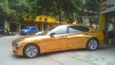 BMW 730 is Gold in China