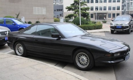 Spotted in China: BMW 850 CSi
