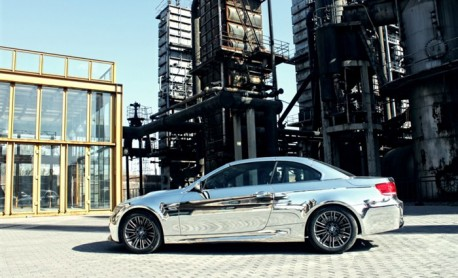 BMW M3 Convertible is Bling in China