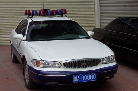 Buick Regal police car from China