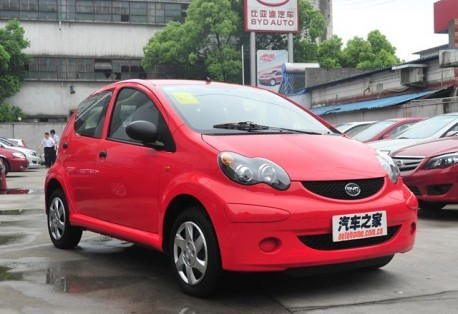 BYD F0 will get an automatic transmission in China
