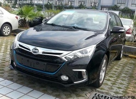 Spy Shot: BYD Qin without camouflage in China