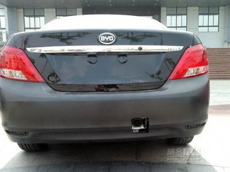 Spy Shots: 315hp BYD Qin hybrid testing in China
