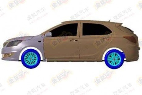Patent Applied: Chery E3 hatchback to arrive in 2014