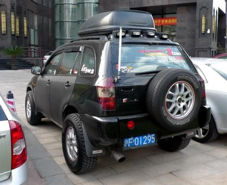 Chery Tiggo is Badass in China