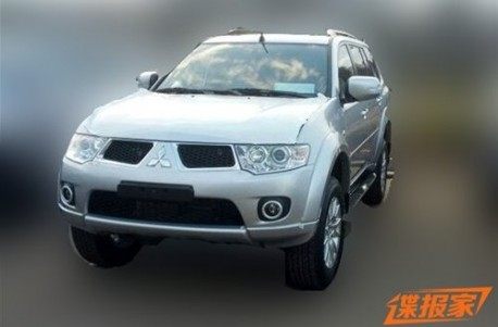 Spy Shots: China-made Mitsubishi Pajero Sport without camo
