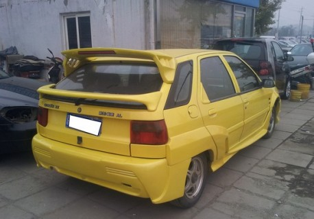 Citroen Fukang is very Yellow and very Fast in China