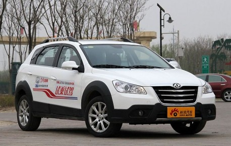 Spy Shots: facelift for the Dongfeng Fengshen S30 & H30