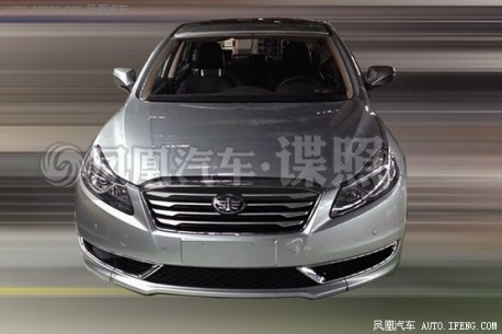 Spy Shots: FAW-Besturn B70 testing in China