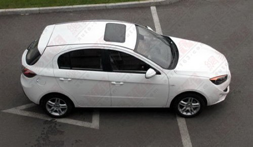 Spy Shots: FAW-Oley hatchback is Naked in China