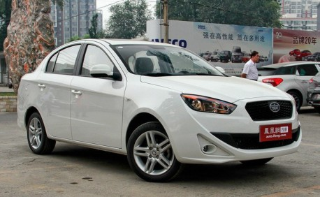 Spy Shots: facelift for the FAW Oley in China