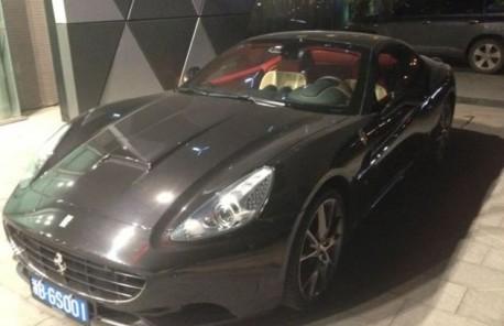 Cheap seat covers for a Ferrari California in China