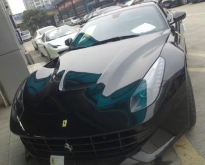 First Ferrari F12berlinetta arrives at the dealer in China