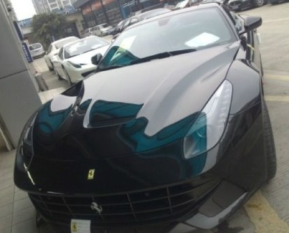 First Ferrari F12berlinetta arrives at the dealer in China