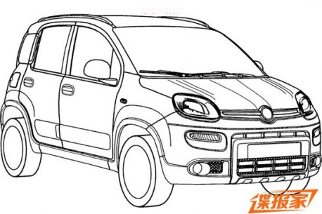 Patent Applied: Fiat Panda will come to China