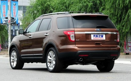 Ford Explorer will be made in China