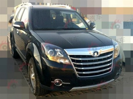 Spy Shots: facelift for the Great Wall Haval H5 Zhizun in China