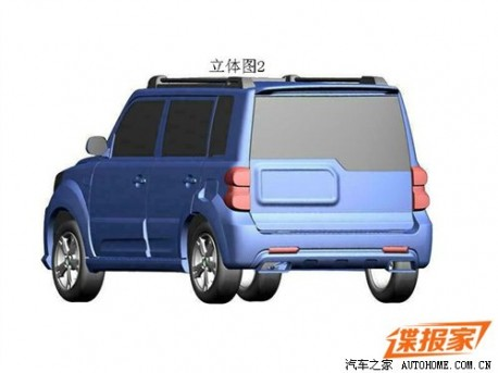 Patent Applied: facelift for the Great Wall Haval M2