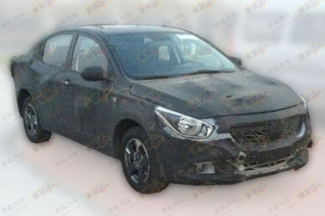 Spy Shots: Guangzhou Auto Trumpchi AF seen in the wild again