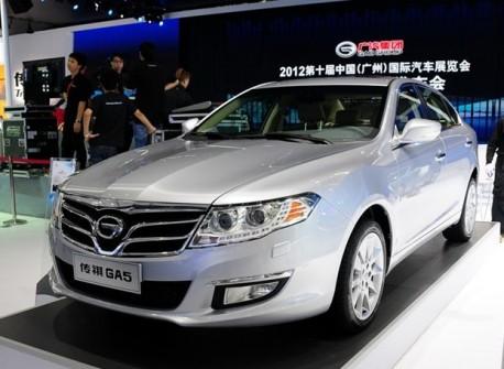 Guangzhou Auto Trumpchi GA5 launched on the China car market
