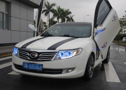 Guangzhou Auto Trumpchi with Lambo-doors from China