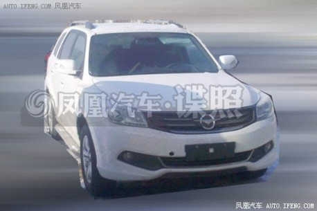 Spy Shots: facelift for the Haima 7 SUV in China