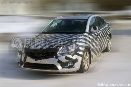 Spy Shots: Haima M8 testing in China
