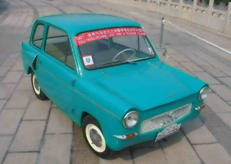 China Car History: the Haiyan HY710 from Shanghai