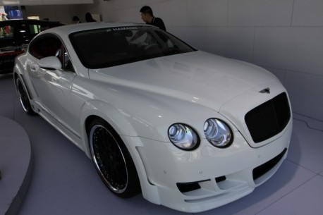 Spotted in China: Hamann Bentley Continental GT Speed