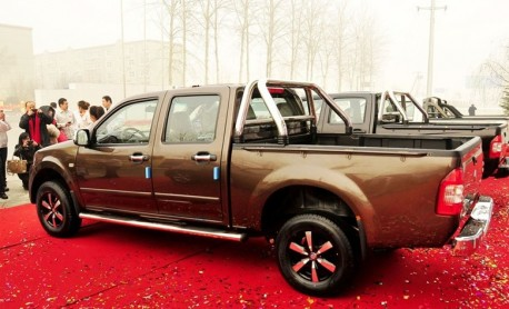 Hengtian Auto T3 pickup truck debuts in China