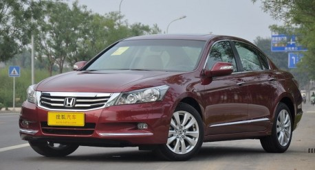 Spy Shots: new Honda Accord for China